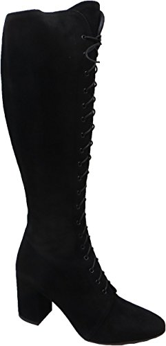 FRANCO RUSSO Size 6 Women's 6161 Suede Knee High Boots rD5YEBrOP