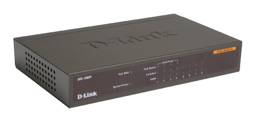 D-Link DES-1008P 8-Port Desktop Switch with 4 PoE Ports