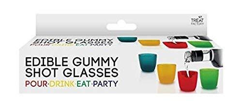 Edible Gummy Shot Glasses 4 Pack by Toysmith