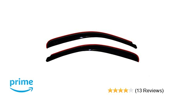 Auto Ventshade AVS 192212 2pc In-Channel Ventvisor for Frontier and Xterra