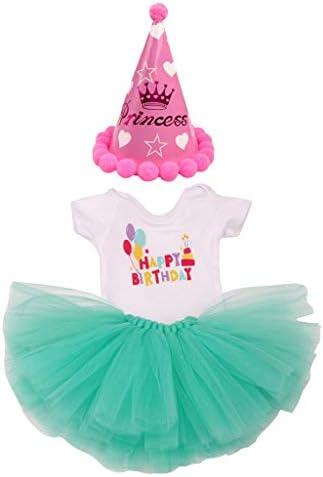 Tachiuwa 18インチ人形服 ドレス帽子装飾 ドール服装飾 コスプレ ドールメイキング 手作り 全7カラー - ライトグリーン
