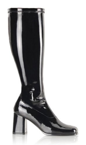 Pleaser Shoes Gogo 300X Boot Black Size 10]()