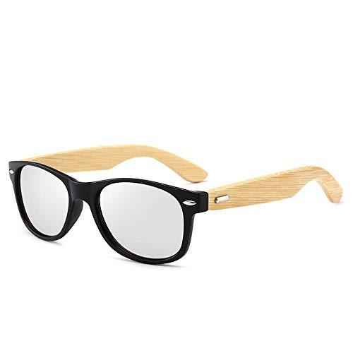 Sol de bambú de B de Madera de Madera los Hombres ZhongYi de Gafas 0R8TEE