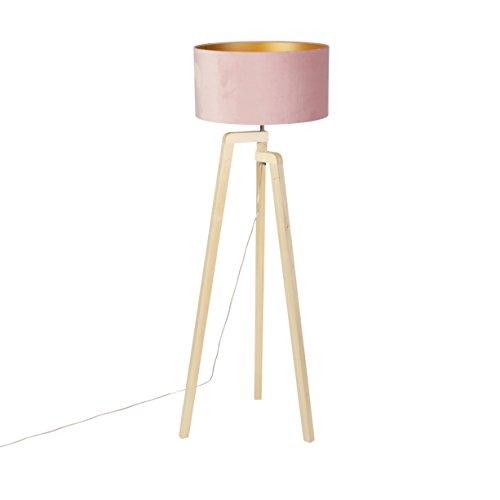 QAZQA Moderne Lampadaire/Lampe de sol/Lampe sur Pied/Luminaire ...