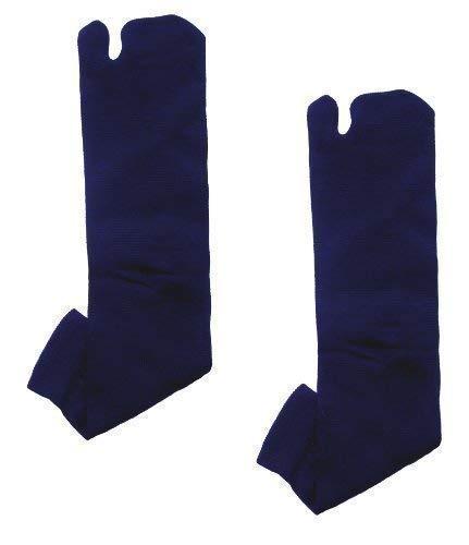 Ninja Tabi japonés calcetines azul oscuro - 1 par (UK 7-11 ...