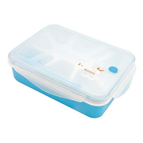 Box Lunch Juego de fiambreras Bento for niños Adultos - 4/5 ...