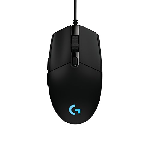 Logitech G203 Prodigy RGB Wired Gaming Mouse - Black (3 Button Mouse Logitech)