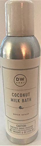 DW Home Richly Scented Coconut Milk Bath Room Spray Air Freshener Fragrance, 6 ()