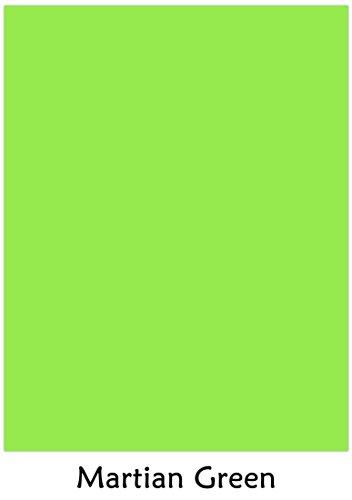 Martian Green - Neenah Astrobrights Premium Color Card Stock Size 8.5 x 11, 65 Lb - 50 Sheets