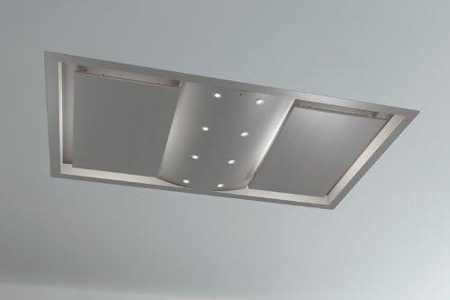 Pando E-250 1502 m³/h De techo Acero inoxidable - Campana (1502 m³/h, Canalizado, 48 dB, 56 dB, De techo, Acero inoxidable): Amazon.es: Hogar