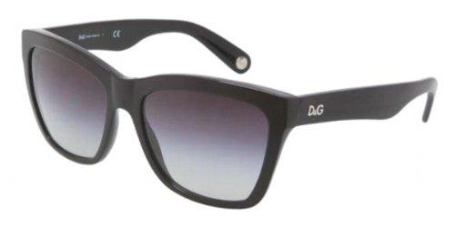 Amazon.com: D & G anteojos de sol dd3080 Negro/Gray Gradient ...