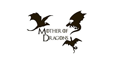Mother of Dragons Khaleesi Vinyl Sticker Decals for Car Bumper Window Laptop (5