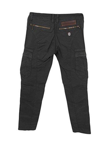 Aeronautica Militare Pantalone Donna Tasche Grigio Scuro TG 38 (XXS) C3/57