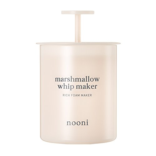 NOONI Marshmallow Whip Maker #Baby pink Bubble Cleansing Foam