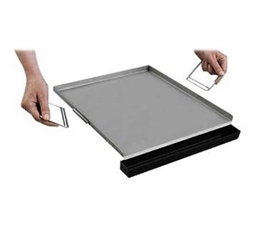 Campingaz 203979 - Plancha de acero inoxidable para barbacoas (38 x 31 cm)
