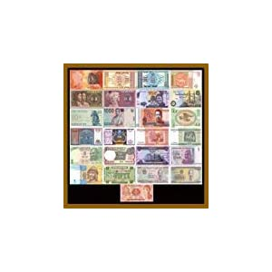 25 Pcs of Different World Mix (Mixed) Foreign Banknotes Currency Lot, Unc - limited, rare