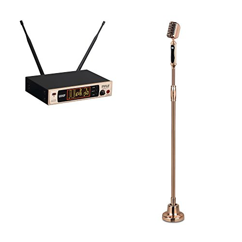 Pyle PDWMRET76GL Wireless Microphone System