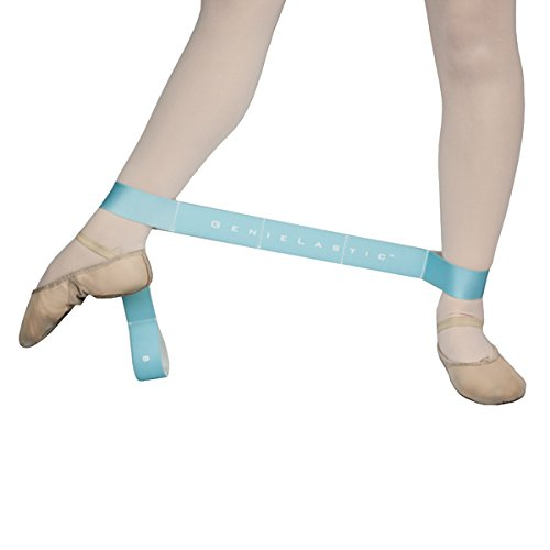 GENIE LASTIC - A Segmented Elastic Stretching and Strengthening Band by Arch Genie (for Ballet, Dance, Gymnastics, Cheer, Yoga, Pilates, Physical Therapy, and other Fitness Athletic Activities) by Arch GenieTM