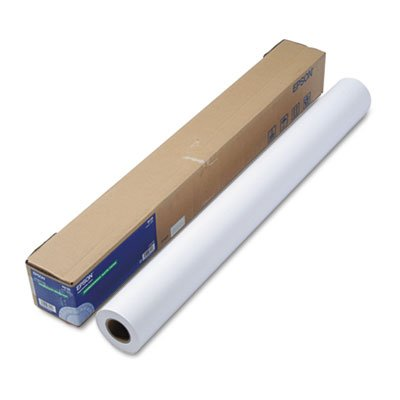 Epsonamp;reg; - Non-Glare Matte-Finish Inkjet Paper, Double-Weight, 36amp;quot; x 82ft Roll - Sold As 1 Roll - Heavy (Epson Banner Roll)