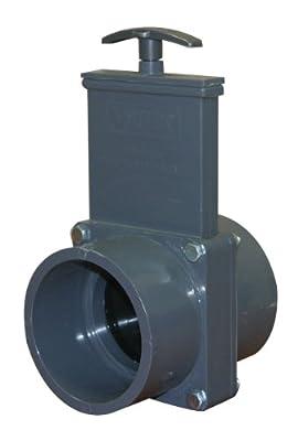 Valterra 8301 PVC Metric Gate Valve, Gray, 90 mm Slip from Valterra Products