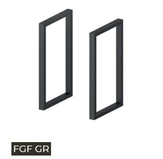 fògher FGF Gr patas tubulares fijas para barbacoa fogher Grill 450 – 650