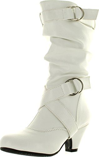 Link  (White High Heel Boots)