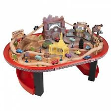 KidKraft Disney Cars Radiator Springs Race track Set and (Disney Cars Table)