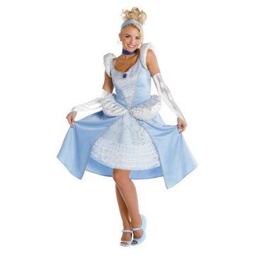 Cinderella Sassy Prestige Costume - Large - Dress Size 12-14