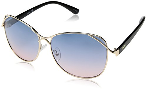 Nanette By Nanette Lepore Women's Nn222 Gldox Round Sunglasses Gold/ Black 63 Mm