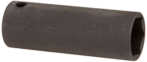 Sunex 2621 1/2-Inch Drive 21-Mm Extra Thin Wall Deep Impact - Wall Deep Thin Socket