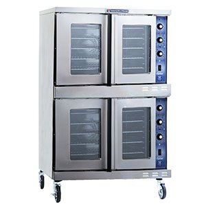 Bakers Pride Cyclone GDCO-G2 Full Size Double Gas Convection Oven, 39 x 39 x 72 1/4 inch -- 1 each.