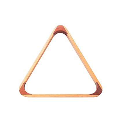 Powerglide Snooker Pool Wood Triangle