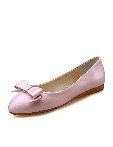 talón de pink negro zapatos casual libre us5 rosa mujer pisos punta de cn34 redonda eu35 aire uk3 al vestido plano PDX rojo TxIS6nx