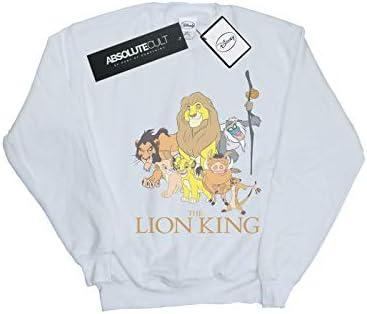 Disney Herren The Lion King Group Sweatshirt Weiß Small
