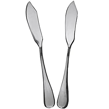 Seikei Butter Knife Spreader Stainless Steel Knives, Set of 2