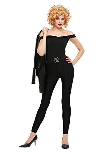 Grease Women's Plus Size Bad Sandy Costume 2X Black]()