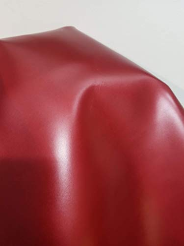 NAT Leathers Red Calf Finish Vegetable Tanned Cowhide Leather 16 to 19 Square Feet 50