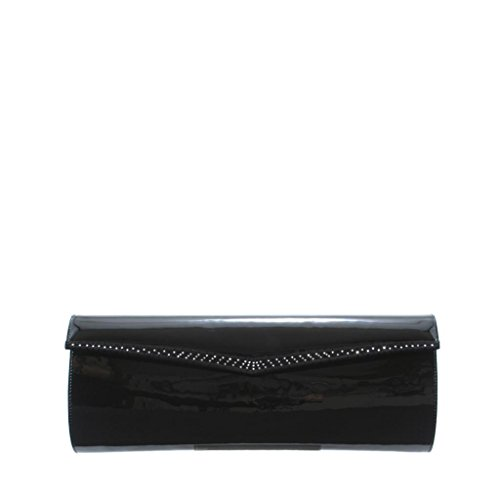GION Elisabeth Women Leather Clutch Evening Bag by GION leather goods