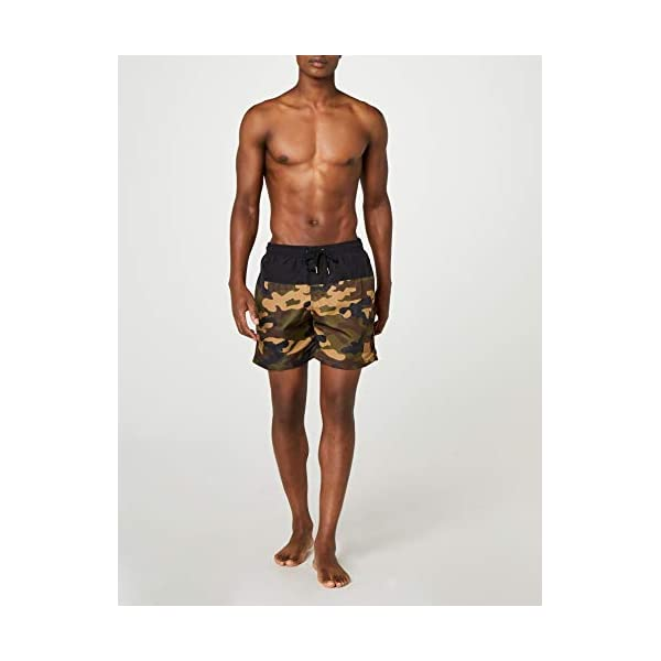 Urban Classics Block Swim Shorts Pantaloncini da Bagno Uomo 2 spesavip