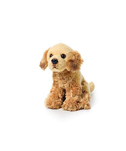 DEMDACO Little Golden Retriever Children's Plush Beanbag Stuffed Animal Toy ()