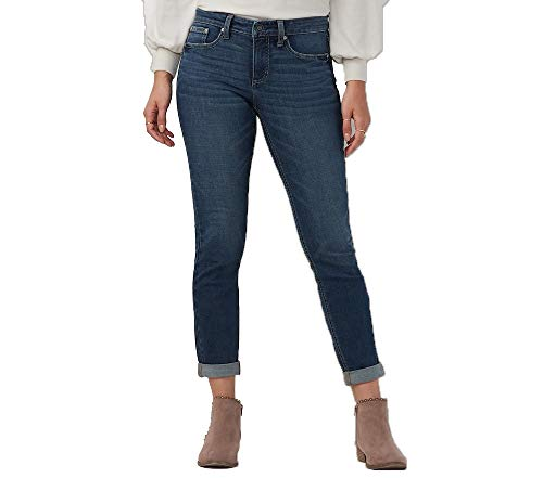c116fca31063b Lauren Conrad Women s LC Feel Good Cuffed Midrise Skinny Ankle Jeans 12 Blue
