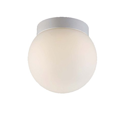 WAC Lighting FM-W52306-WT 6in White Niveous LED Flush Mount, 6 Inches,