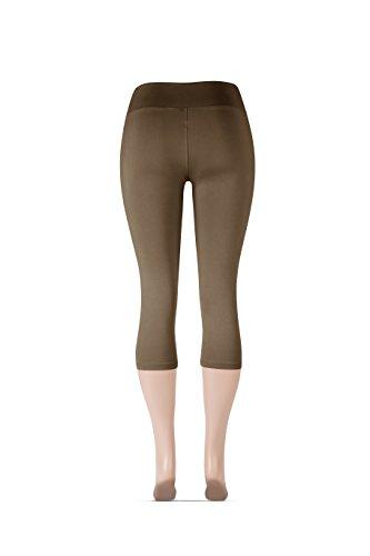 7647a2099db141 Sejora SATINA High Waisted Super Soft Capri Leggings - 20 Colors - Reg & Plus  Size