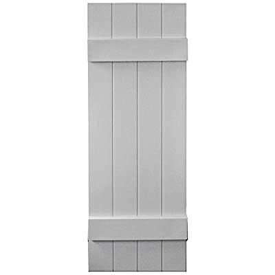 Vantage 8214043030 14X43 4 Board Joined BNB Shutter/Pair 030, Paintable