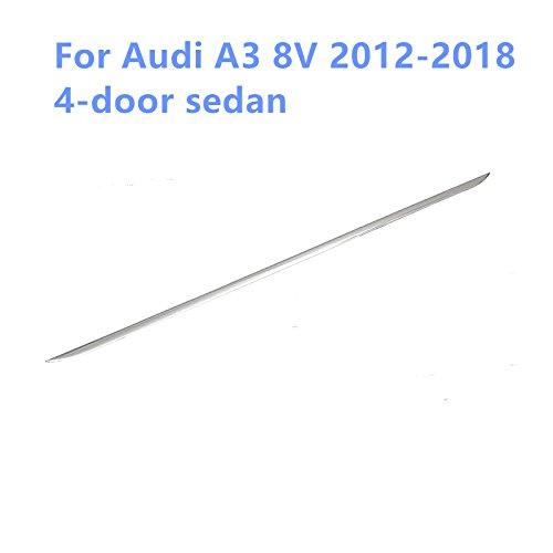 Copertura posteriore di fondo in acciaio INOX 1PCS per A3 8V berlina 2012-2018 YUZHONGTIAN Auto Trims Co. Ltd