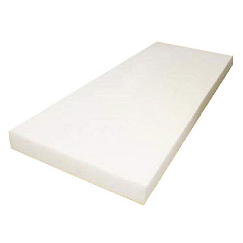 Mybecca High Density Firm Seat Replacement, Upholstery Sheet Foam Padding,6