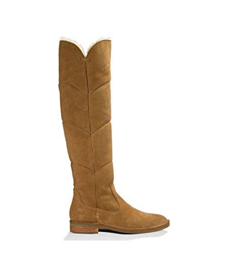 UGG Australia Womens Samantha Boot Chestnut Size 6.5