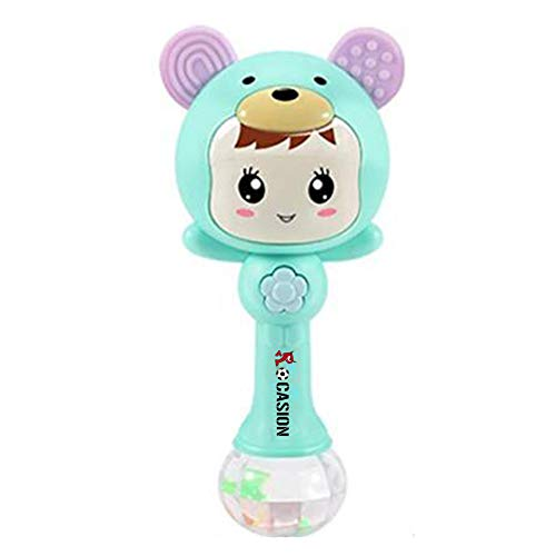 Baby Rattles Early Education Baby Plastic Hand Mucial Rattle for Baby Kids Children Boy Girl by Rocasion (Image #1)