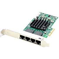 Addon 593722-B21-AO Network adapter - PCI Express x4 - 1000Base-T x 4 - for HP ProLiant DL360p Gen8, DL380 G6, ML10, ML350e Gen8, ML350p Gen8, SL270s Gen8