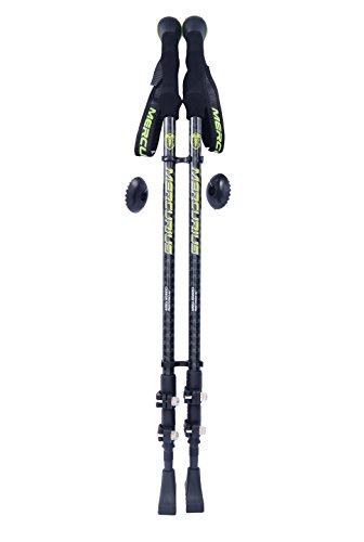 Mercurius Wing Carbon Fiber Trekking Poles Walking Sticks